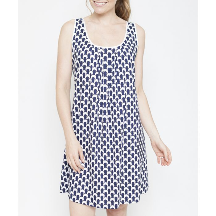Image for Rosie navy spotted chemise