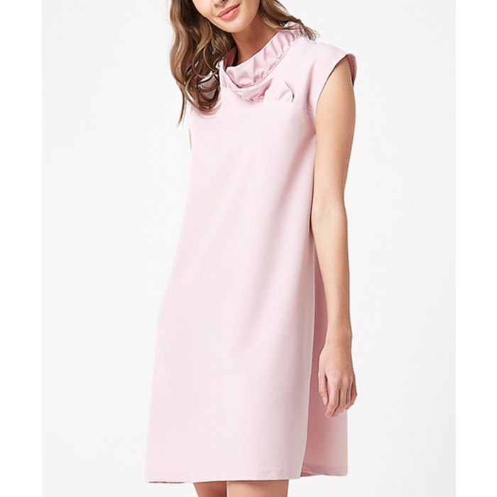 Image for Powder cowl neck shift dress