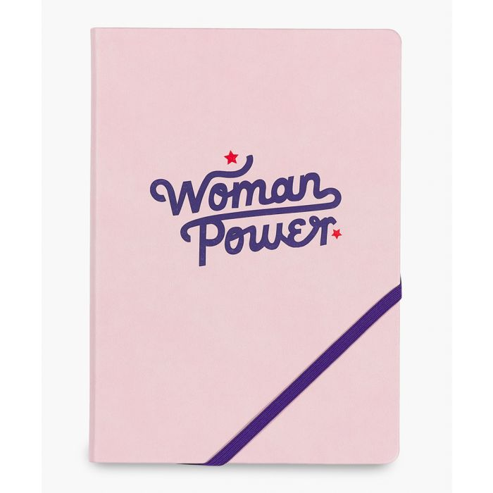 Image for Woman power pink notebook A5