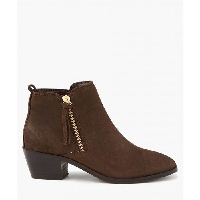 Image for Tencil dark brown ankle boots