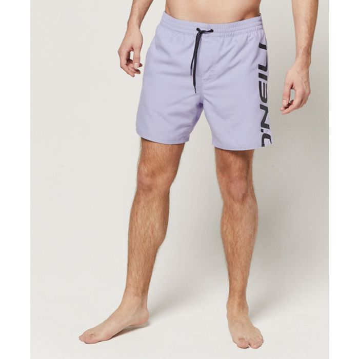 Image for Wave logo printed shorts