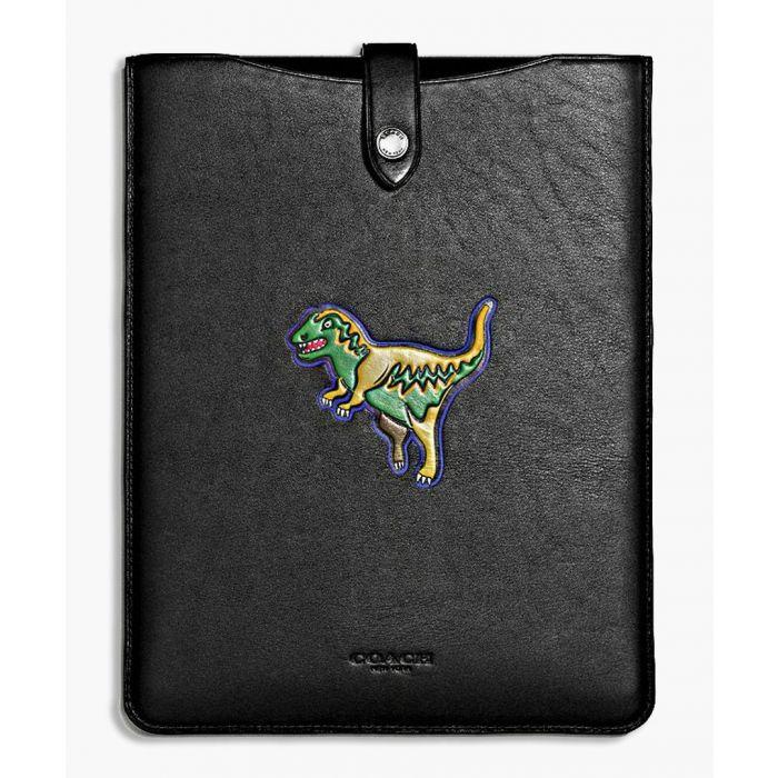 Image for Beast black leather iPad case