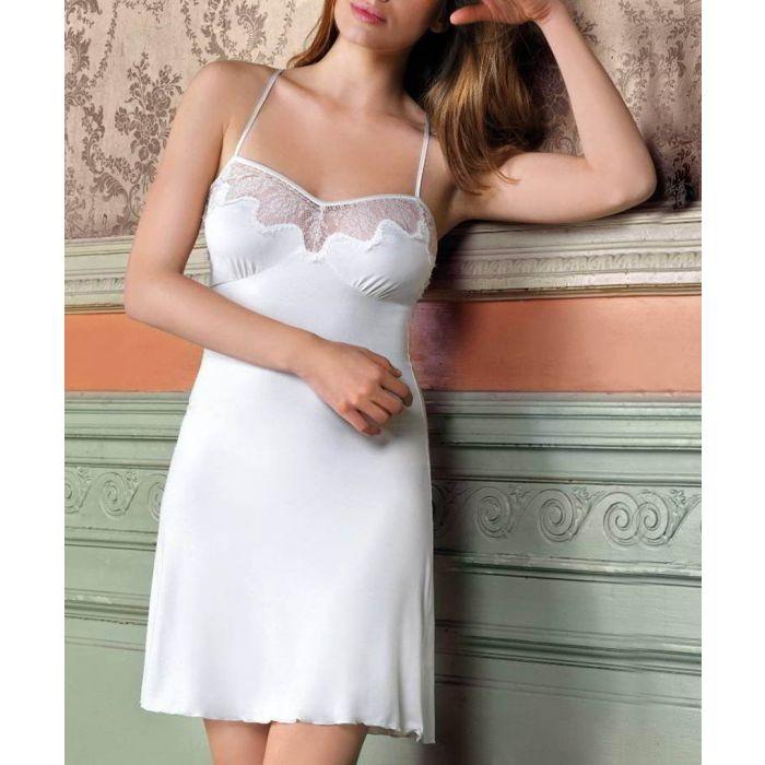 Image for Ecru mini nightdress