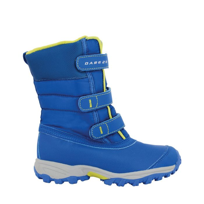 Image for Skiway blue velcro ski boots