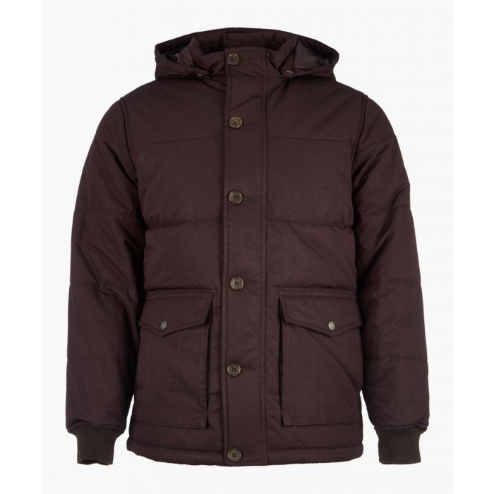 Image for Charcoal button-up jacket