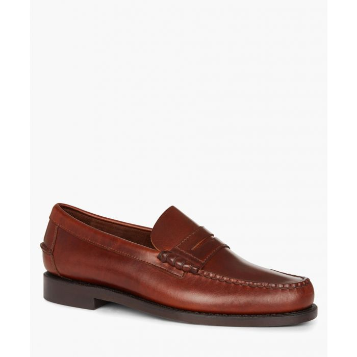 Image for Classic Dan Waxy brown leather loafers