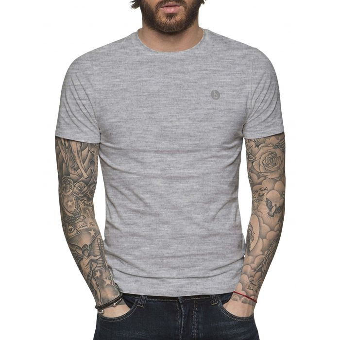 Image for Grey basic T-shirt