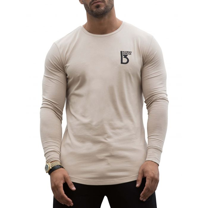 Image for Stone long sleeve muscle fit T-shirt