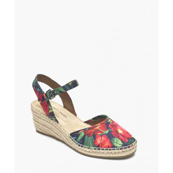 Image for Marah 2 rainbow floral print sandals
