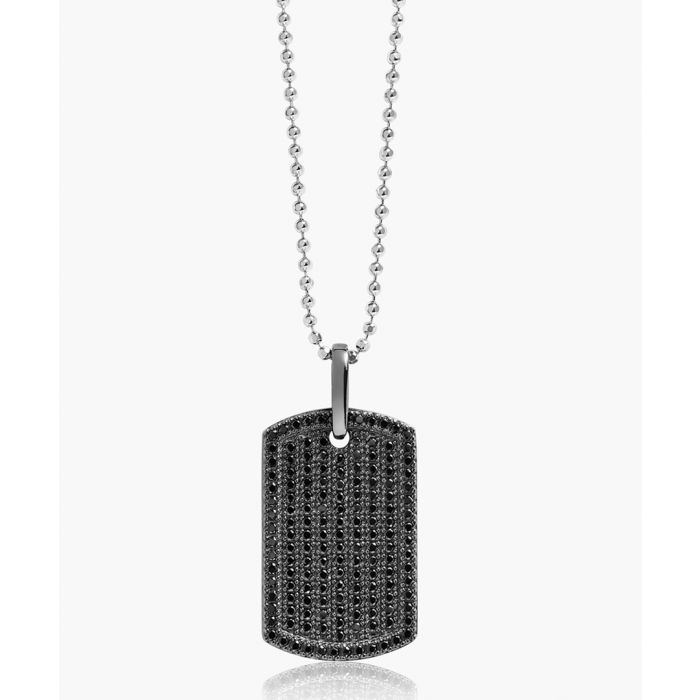 Image for Gemmano Grande black zirconia pendant