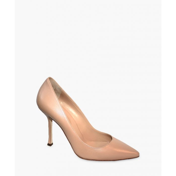 Image for Nappa Speciale blush leather court heels