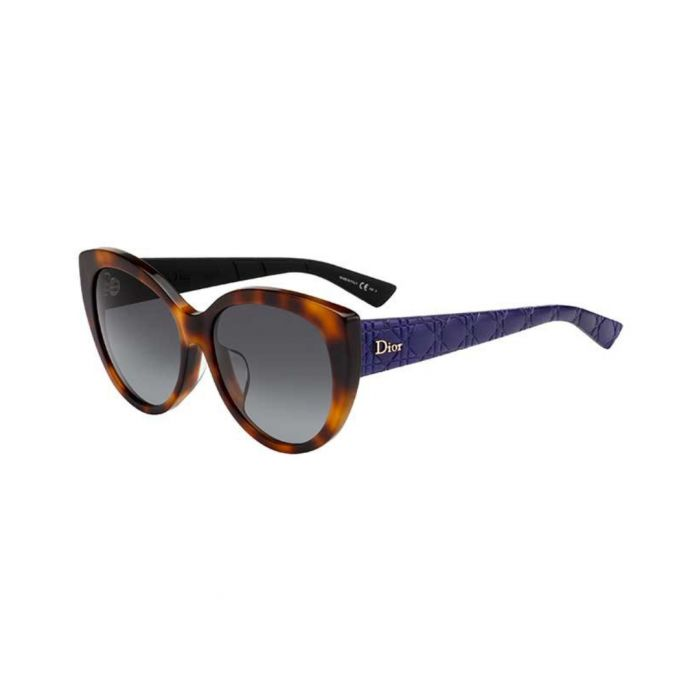 Image for Lady Havana blue gradient sunglasses