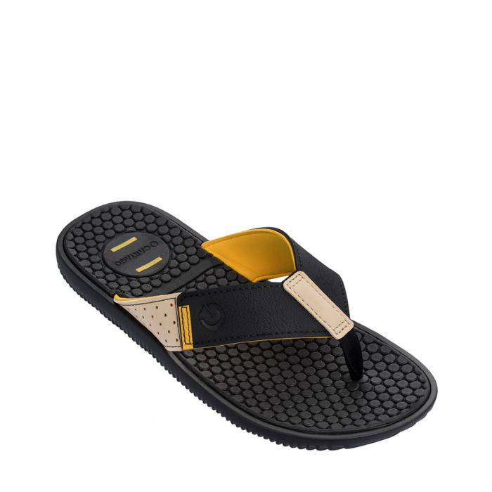 Image for Barcelona Stride black flip-flops