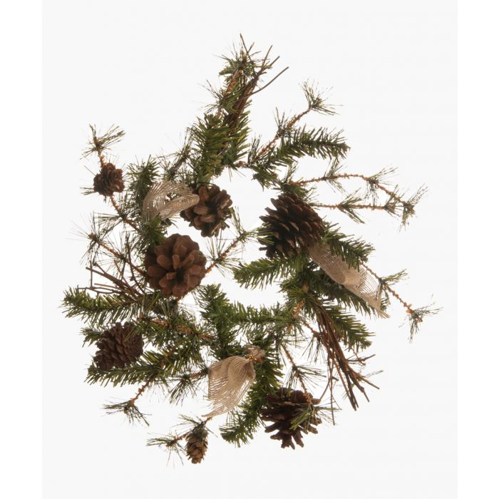 Image for Natural pine wreath 30cm