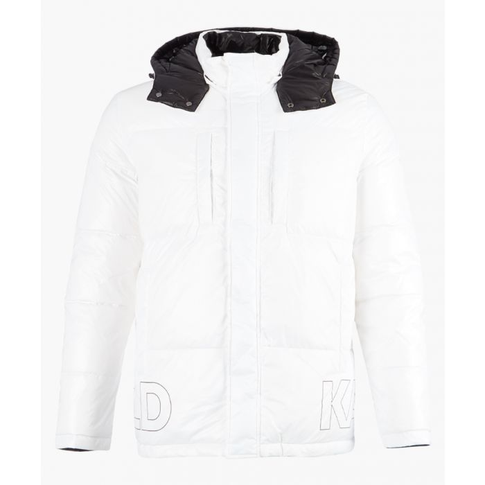 Image for White and black logo jacket