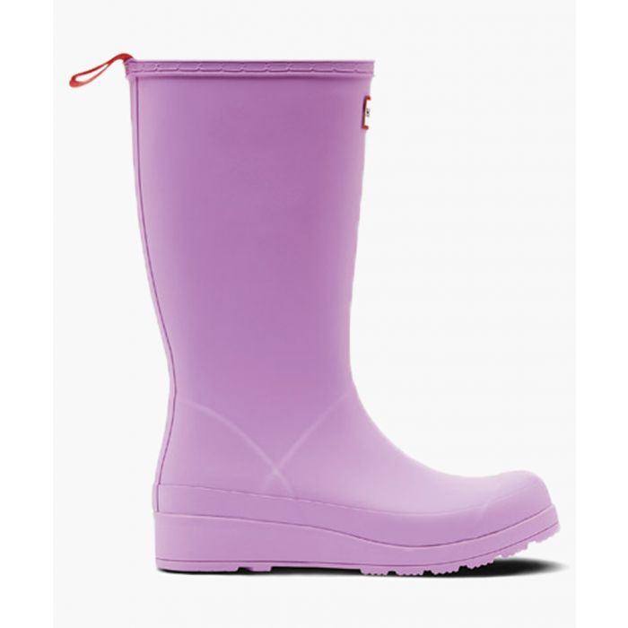 Image for Original play boot tall lilac wellingtons