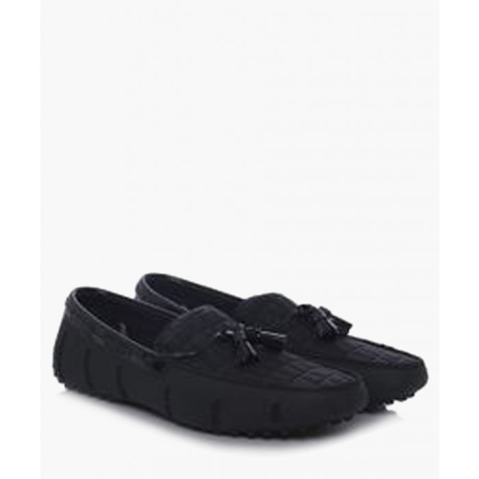 Image for Stride midnight tassel loafers