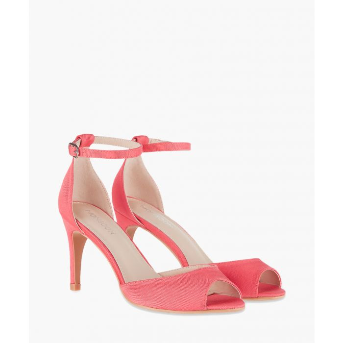 Image for Mariah coral heeled sandals