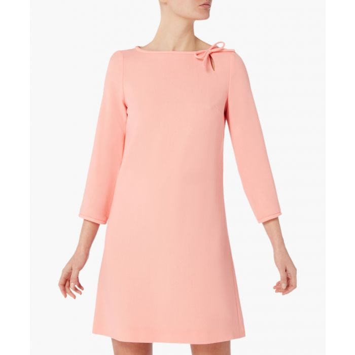 Image for Honey sunset pure wool crepe mini dress