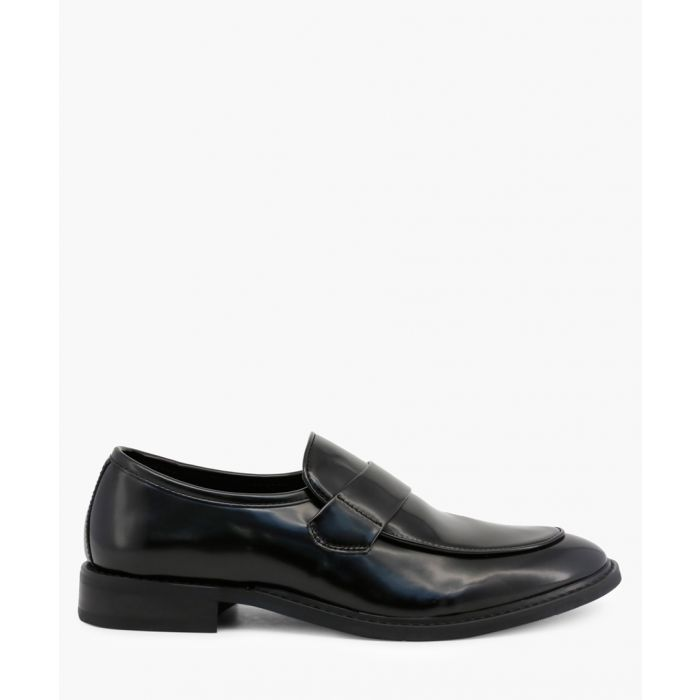 Image for Black patent formal moccasins