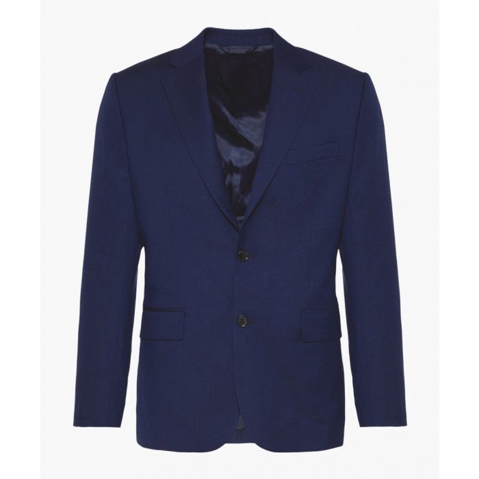 Image for Blue pure wool blazer