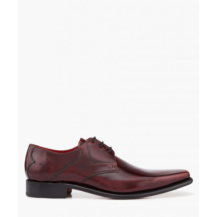 Image for Hemmings Yardbird damson leather Derbys