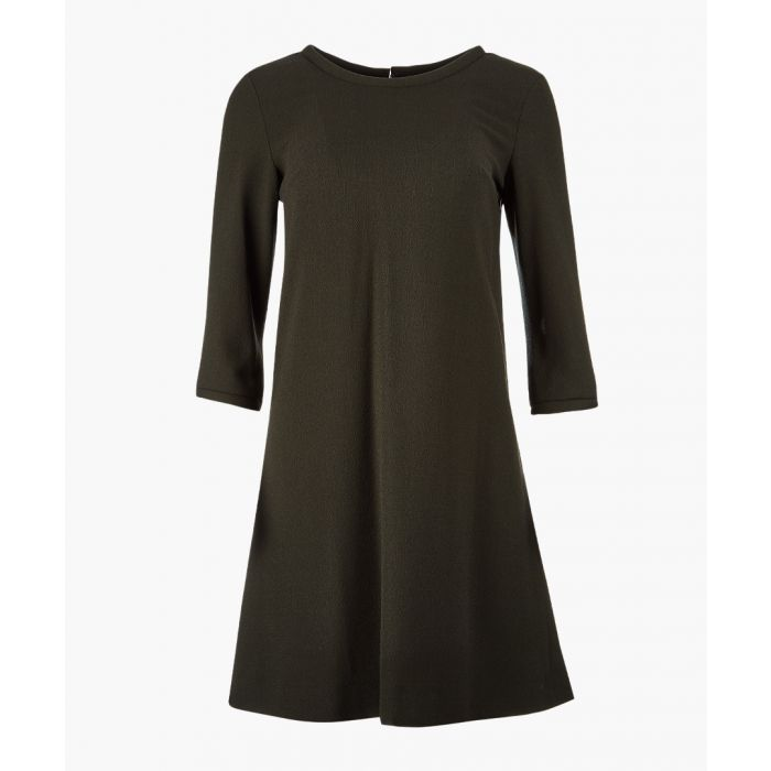 Image for Lola khaki pure wool tunic dress