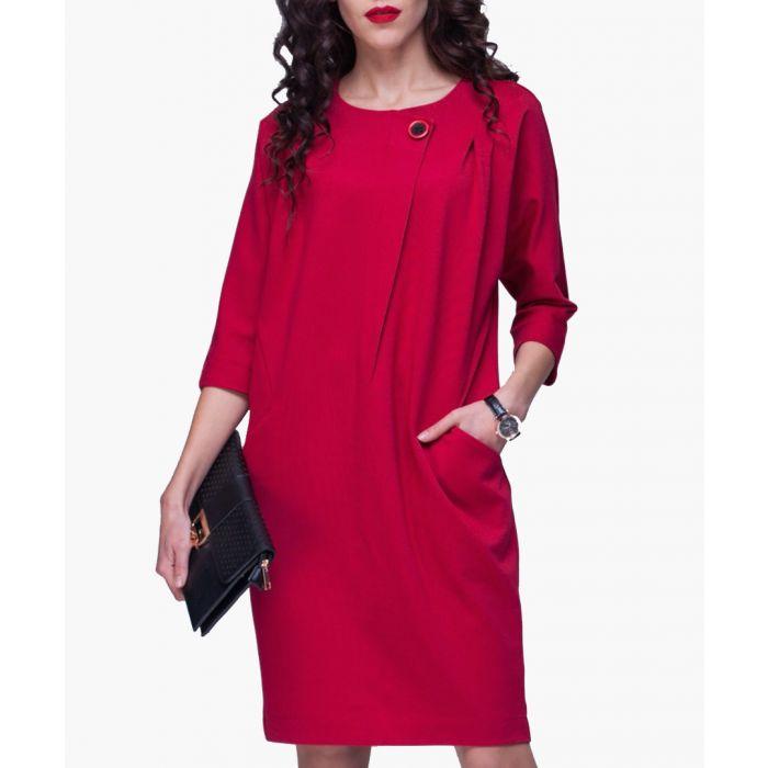 Image for Brick pocket dress