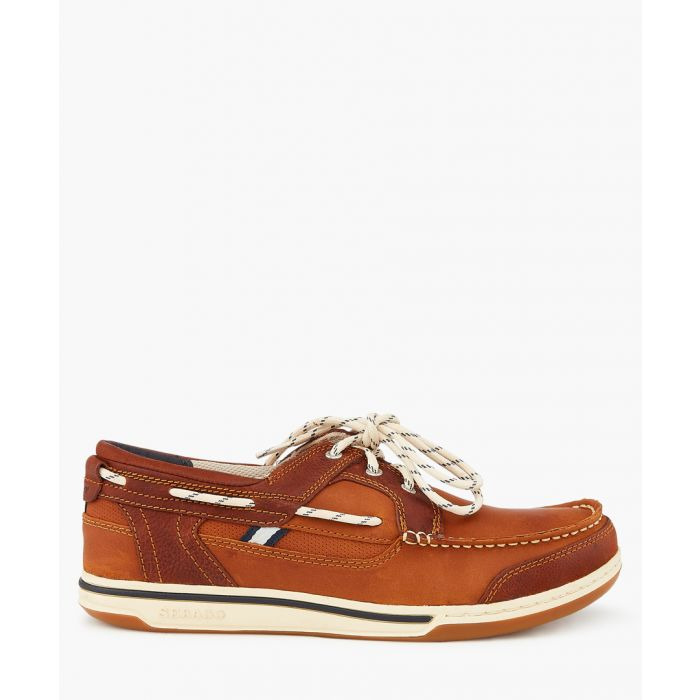 Image for Triton brown cognac boat shoes