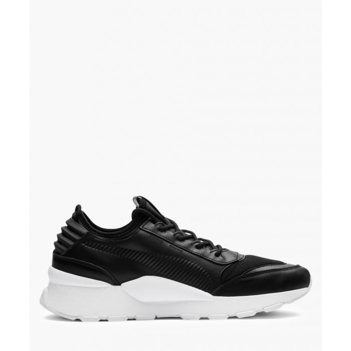Image for RS-0 Sound black leather trainers