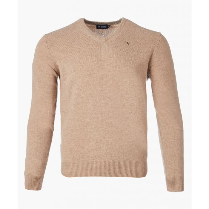 Image for Camel V-neck long sleeved jumper