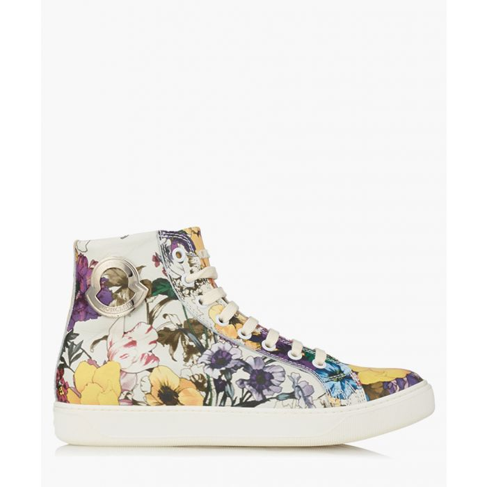 Image for Women's multi-coloured leather hi-tops