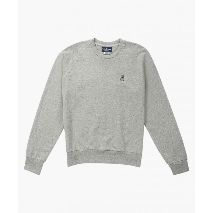 Image for Donegal grey pure cotton jumper