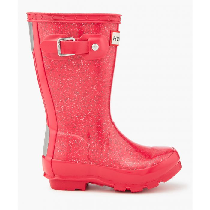 Image for Kids' Original pink glitter Welington boots