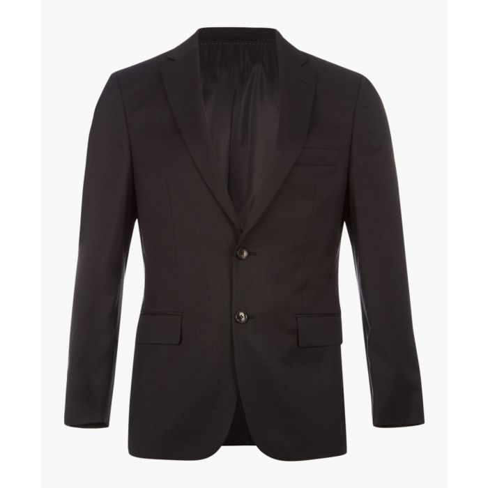 Image for Howard graphite pure virgin wool blazer