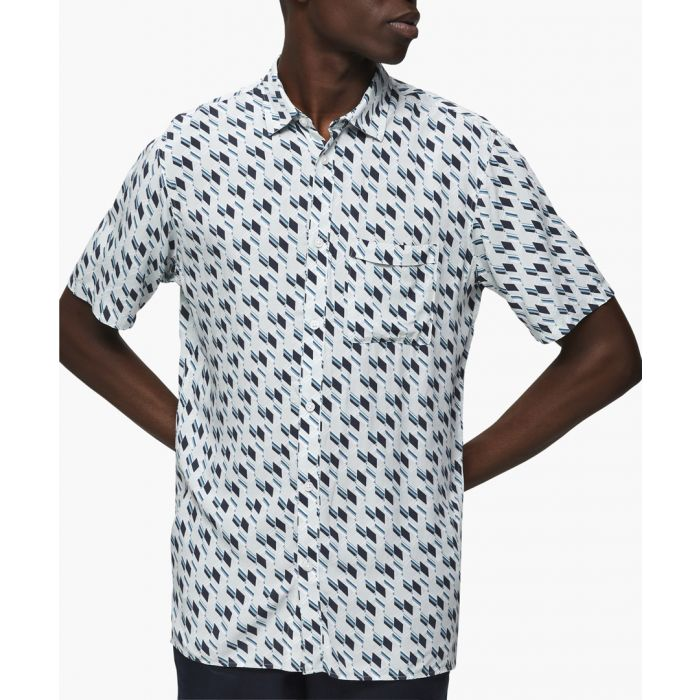 Image for Skyway printed button-up shirt