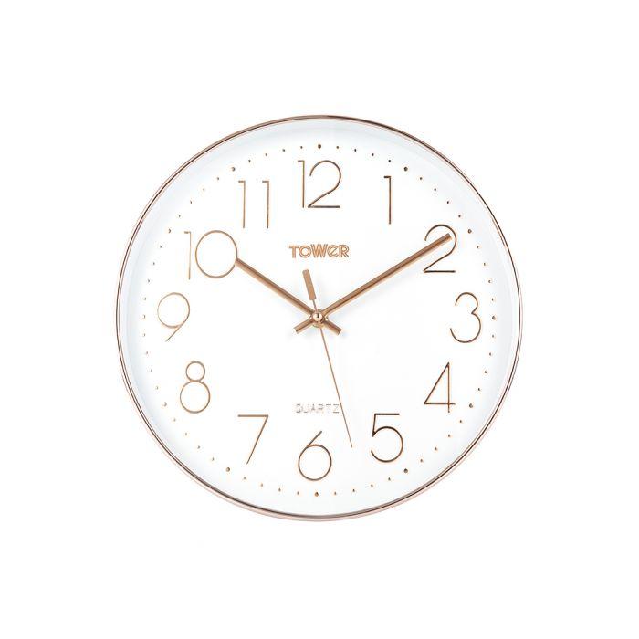 Image for Quartz round wall clock 30cm
