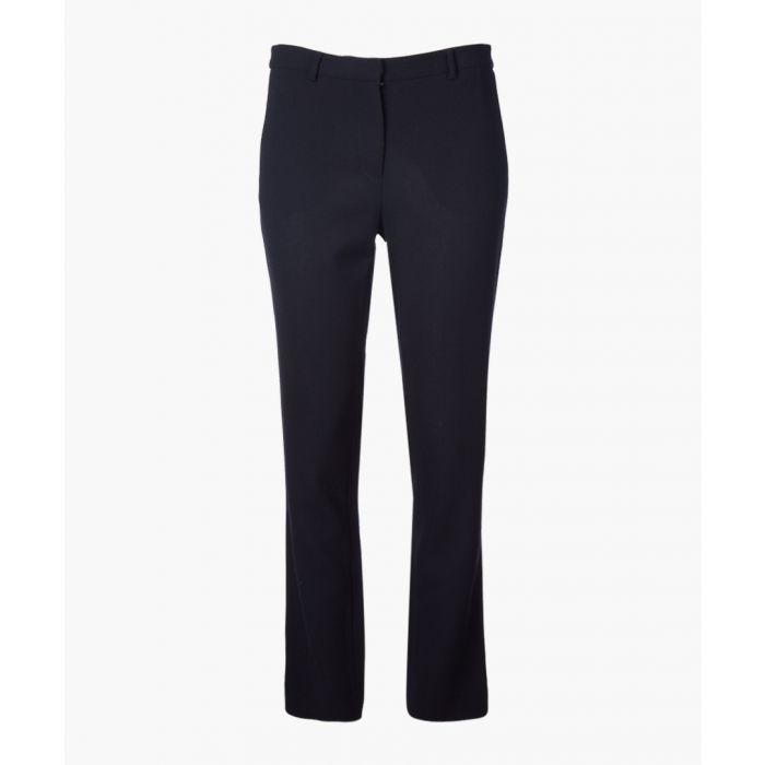 Image for Rocky dark navy pure wool trousers