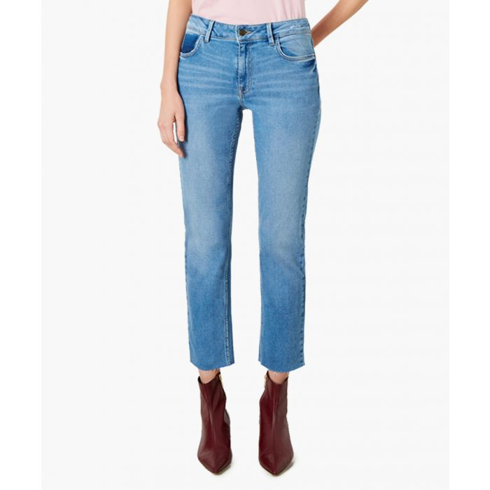 Image for Radclyff light blue cotton slim jeans
