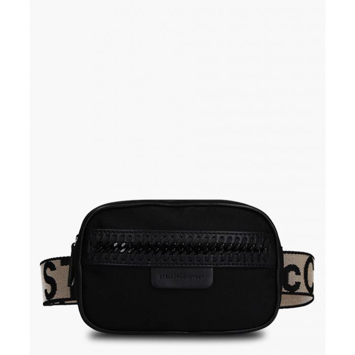 Image for Black nylon belt bag
