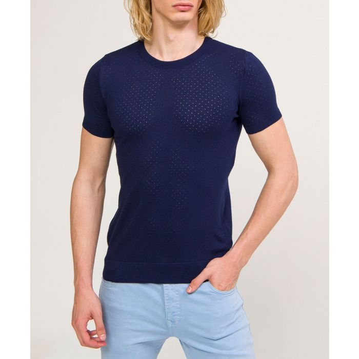 Image for Navy short sleeve T-shirt