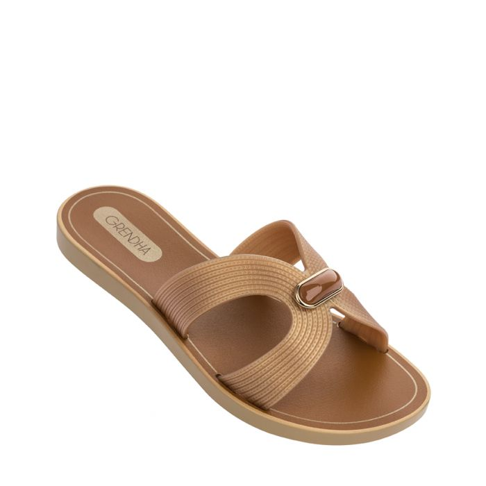 Image for Essence gold-tone sandals