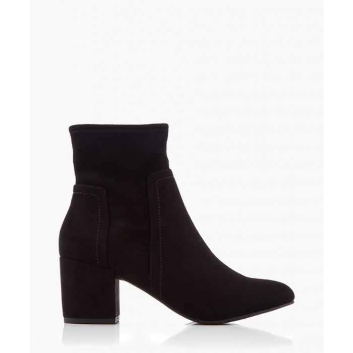 Image for Jemima black block ankle boots