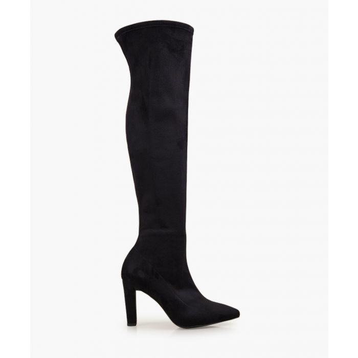 Image for Ella black high boots