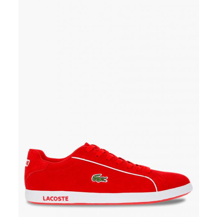 Image for Graduate 219 red & white suede sneakers