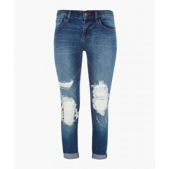 Image for Sadey mid-rise slim straight jeans