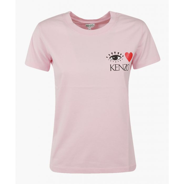 Image for Pink graphic T-shirt