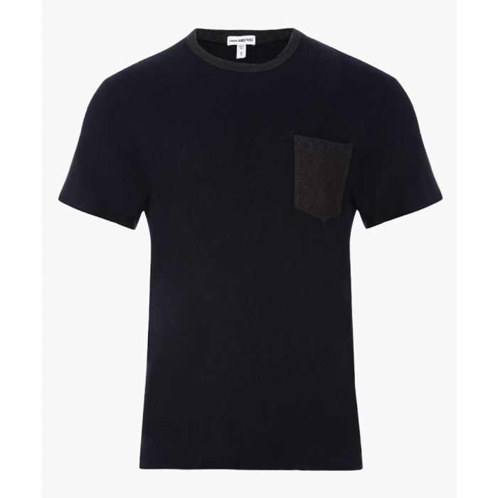 Image for Deep anthracite pure cotton T-shirt