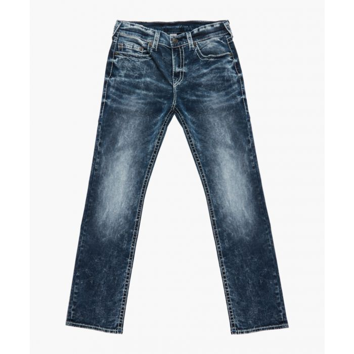 Image for Indigo slim fit jeans