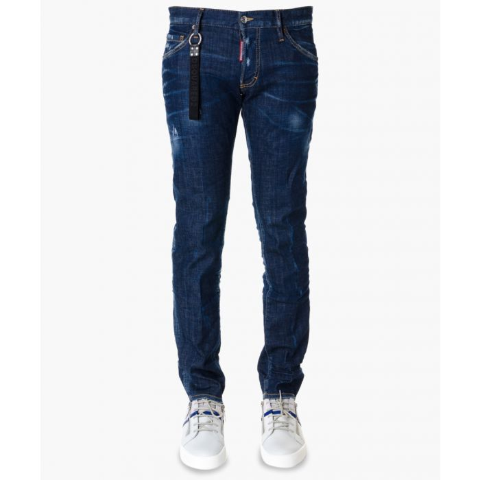 Image for Clement dark blue zip jeans